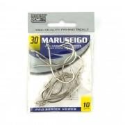 Anzol Maruseigo Nickel nº 30 - 10 unidades