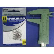 Anzol Maruseigo Nickel nº 6 - 50 unidades
