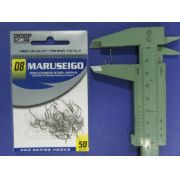 Anzol Maruseigo Nickel nº 8 - 50 unidades