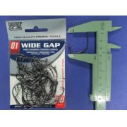 Anzol Wide Gap BlackNickel Robalo nº 1 - 50 unidades