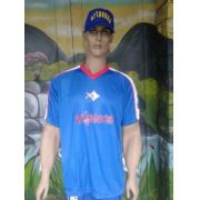 Camiseta-Artpesca Azul -