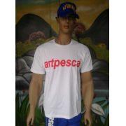 Camiseta-Artpesca Branca -