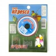 Conjunto Kit Pesca Artpesca 0,25