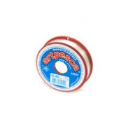 Linha De Nylon Artpesca Branca 0,50mm Pacote com 1 unidade de 100m