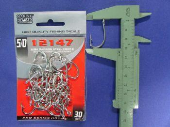 Anzol 12147 nº 5/0 - 30 unidades  - Artpesca
