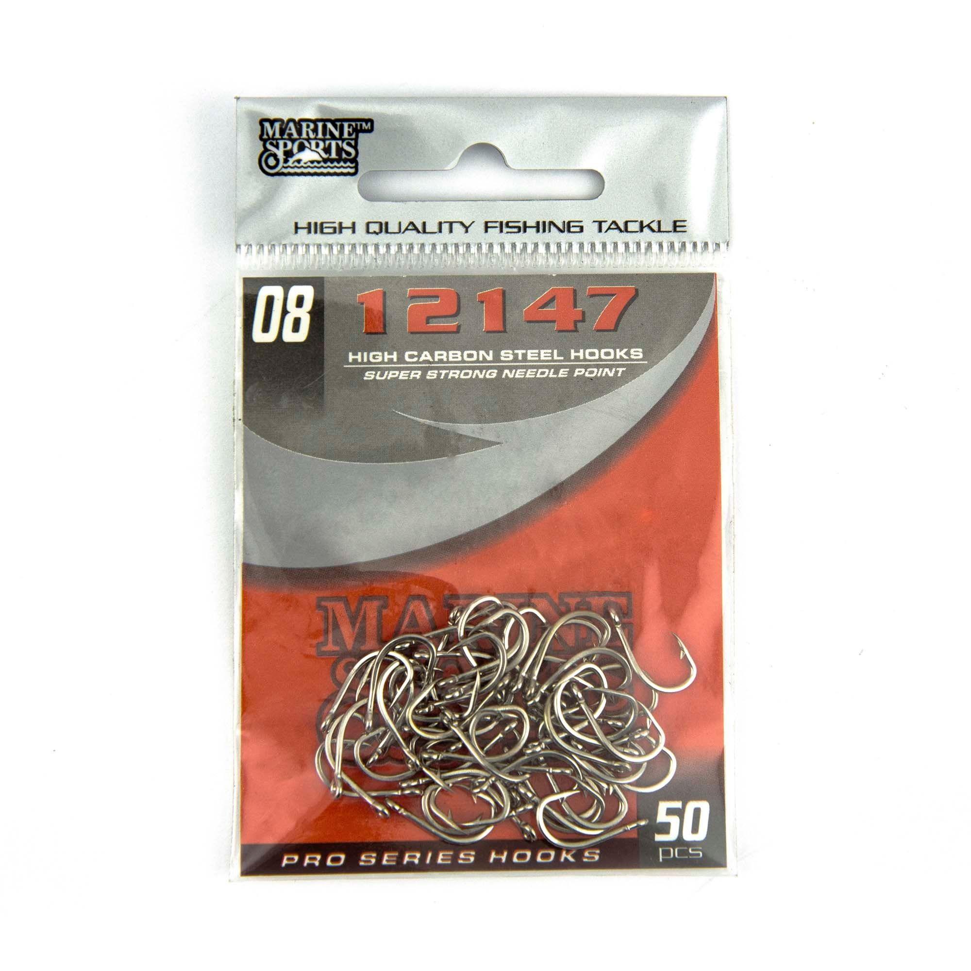 Anzol 12147 nº 8 - 50 unidades  - Artpesca