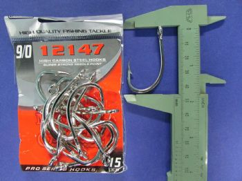 Anzol 12147 nº 9/0 - 30 unidades  - Artpesca