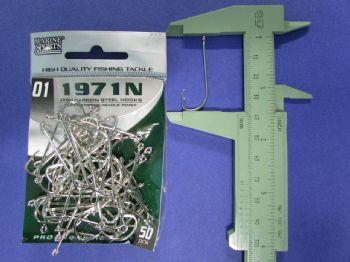 Anzol 1971N nº 1 - 50 unidades  - Artpesca
