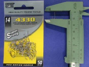Anzol 4330 Farpinha nº 14 - 50 unidades  - Artpesca