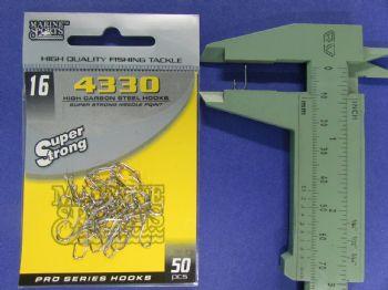 Anzol 4330 Farpinha nº 16 - 50 unidades  - Artpesca