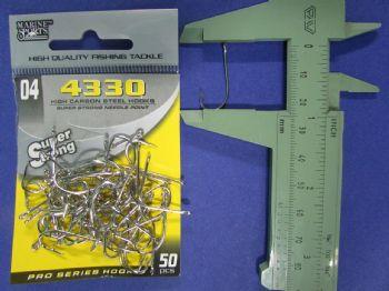Anzol 4330 Farpinha nº 4 - 50 unidades  - Artpesca