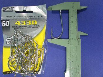 Anzol 4330 Farpinha nº 6/0 - 20 unidades  - Artpesca