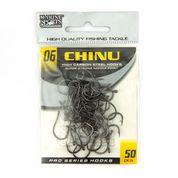 Anzol Chinu Black Nickel nº 6 - 50 unidades  - Artpesca
