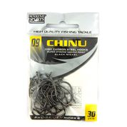 Anzol Chinu Black Nickel nº 9 - 30 unidades  - Artpesca