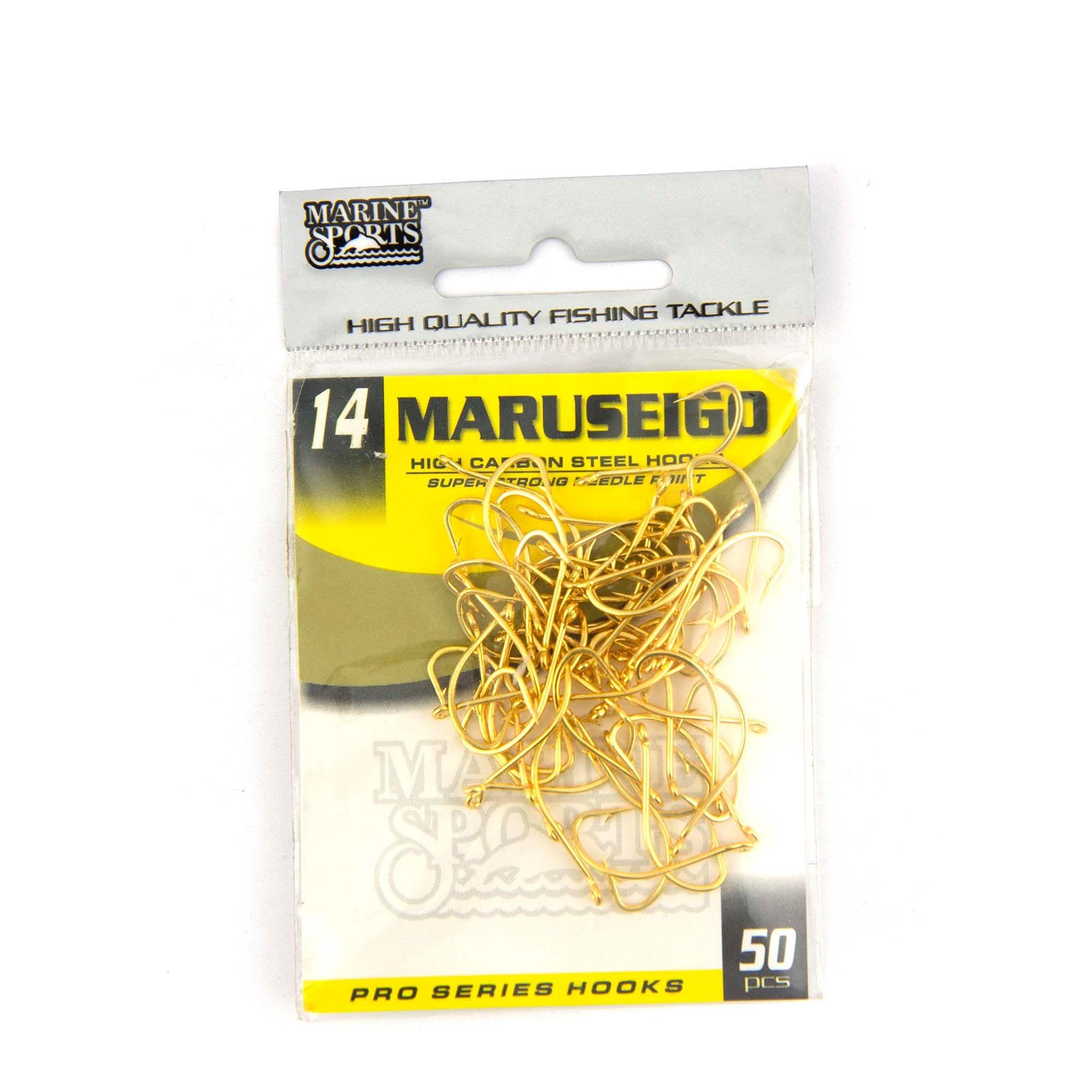 Anzol Maruseigo Gold nº 14 - 50 unidades  - Artpesca