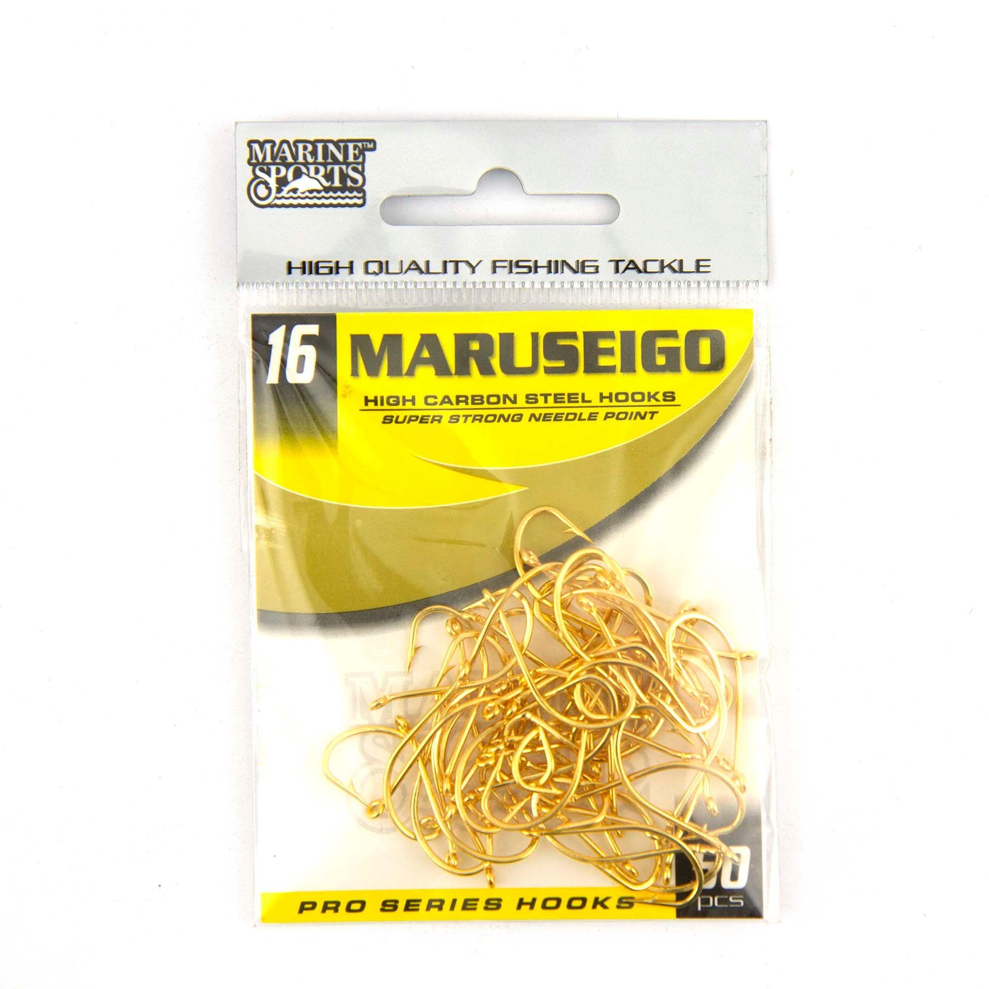 Anzol Maruseigo Gold nº 16 - 50 unidades  - Artpesca