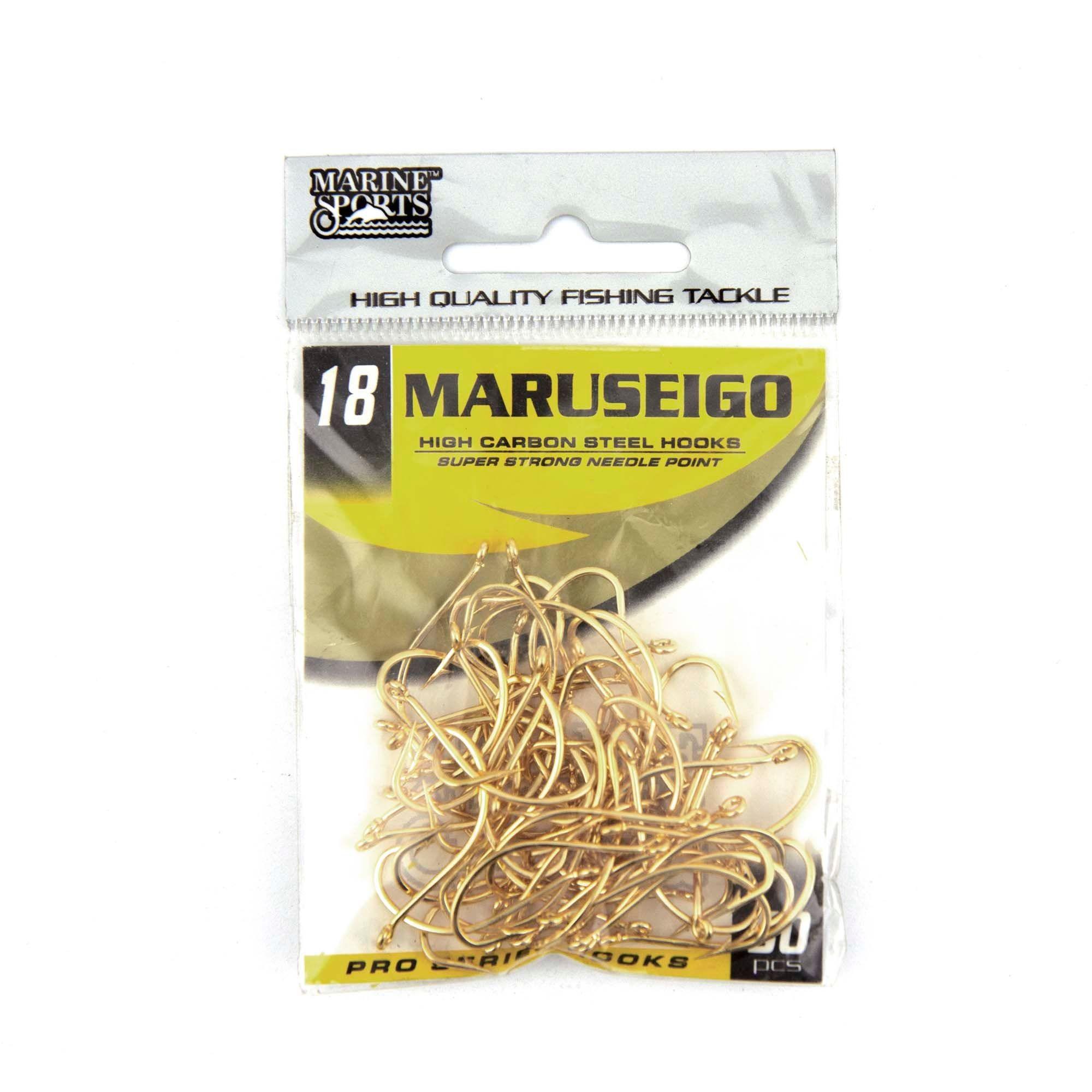 Anzol Maruseigo Gold nº 18 - 50 unidades  - Artpesca