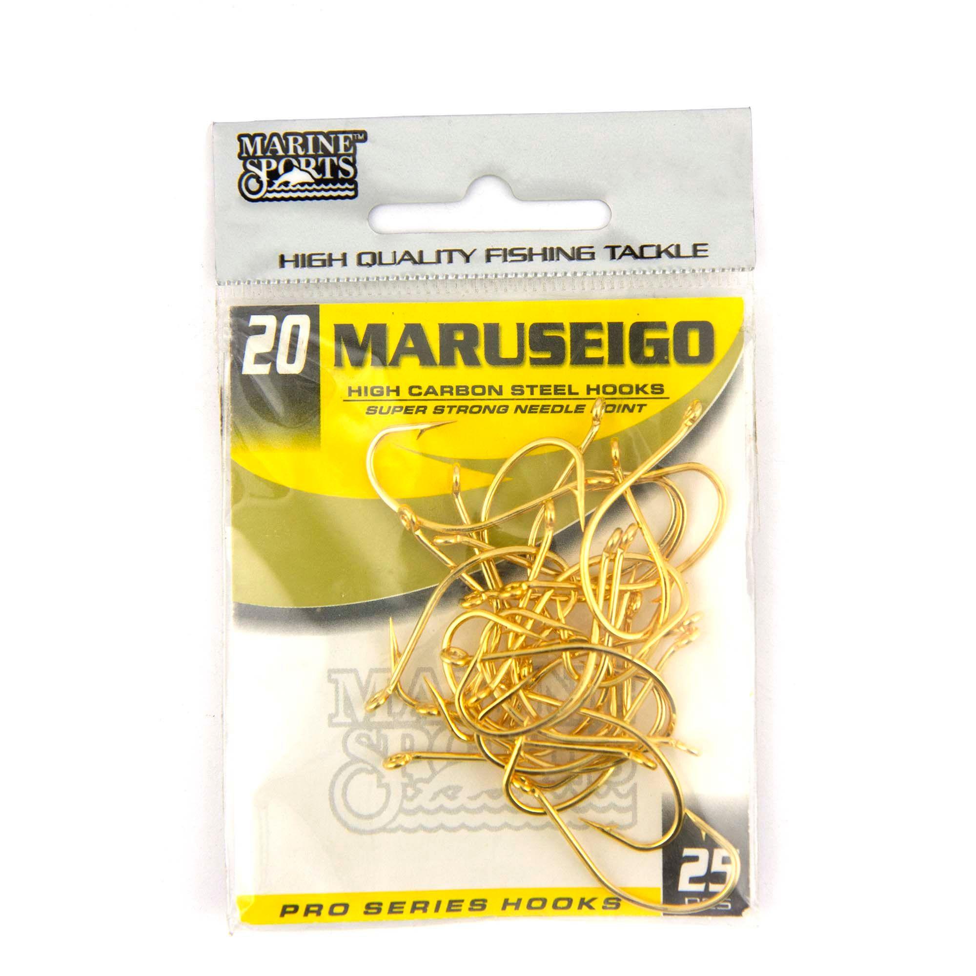 Anzol Maruseigo Gold nº 20 - 25 unidades  - Artpesca