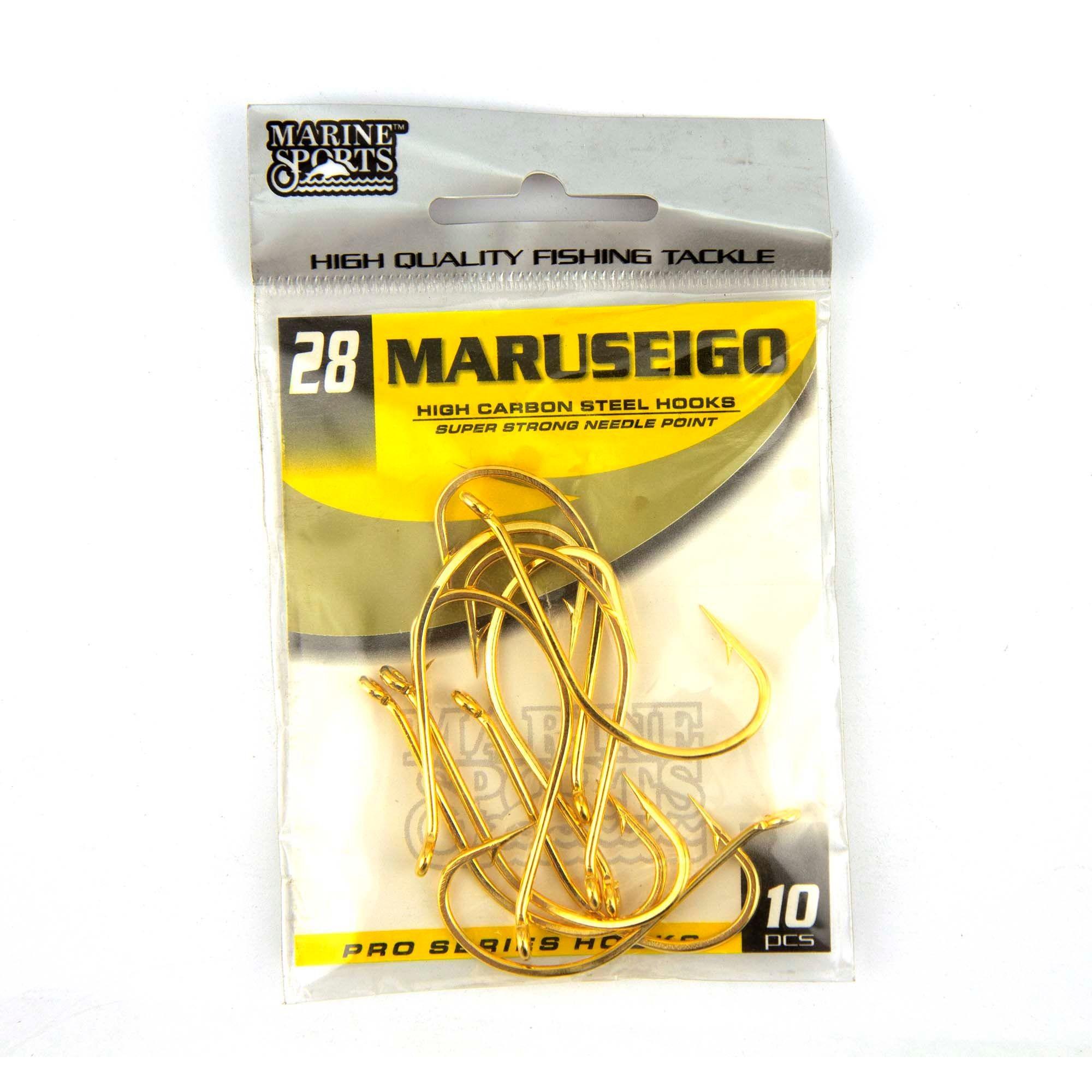 Anzol Maruseigo Gold nº 28 - 10 unidades  - Artpesca