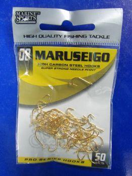Anzol Maruseigo Gold nº 8 - 50 unidades  - Artpesca