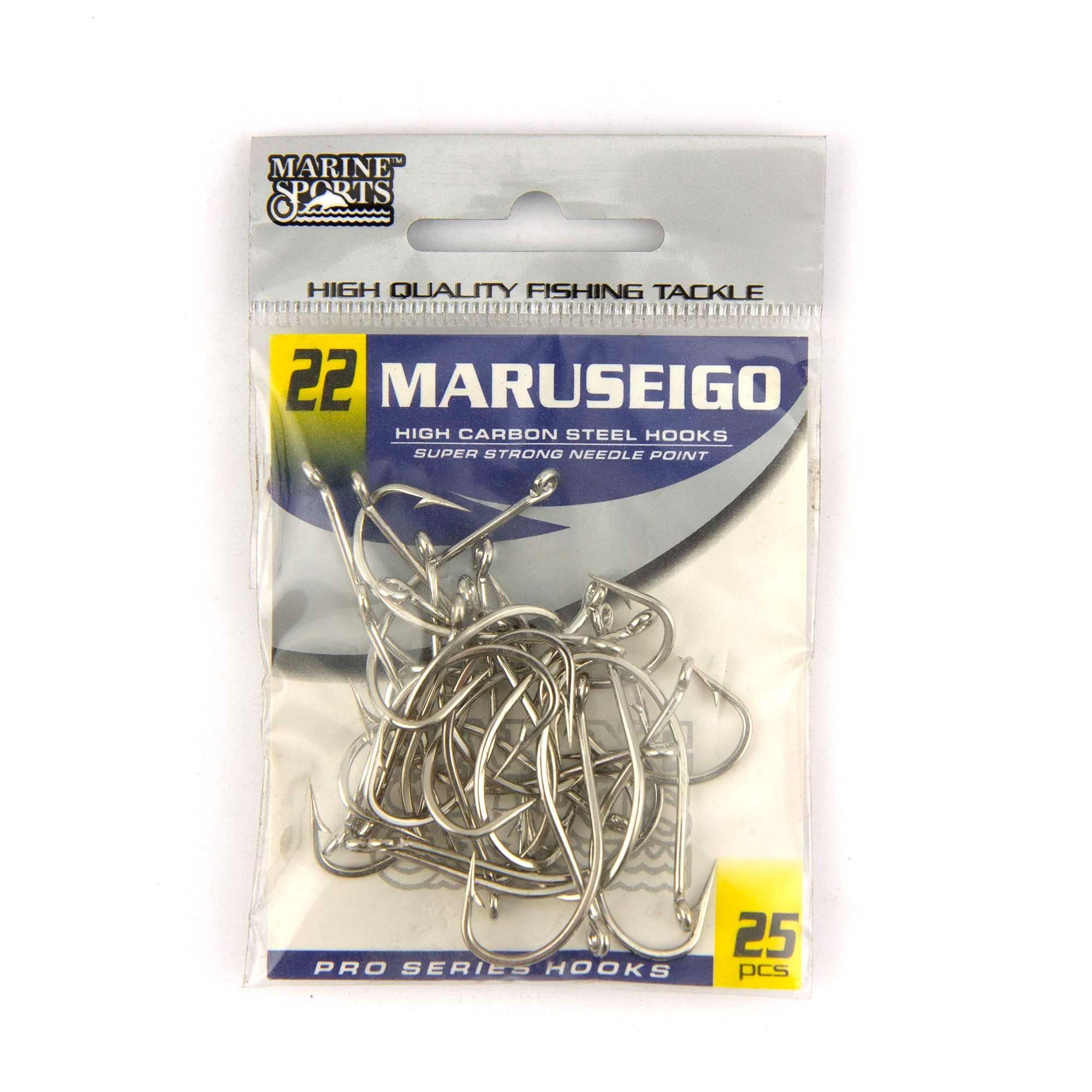 Anzol Maruseigo Nickel nº 22 - 25 unidades  - Artpesca