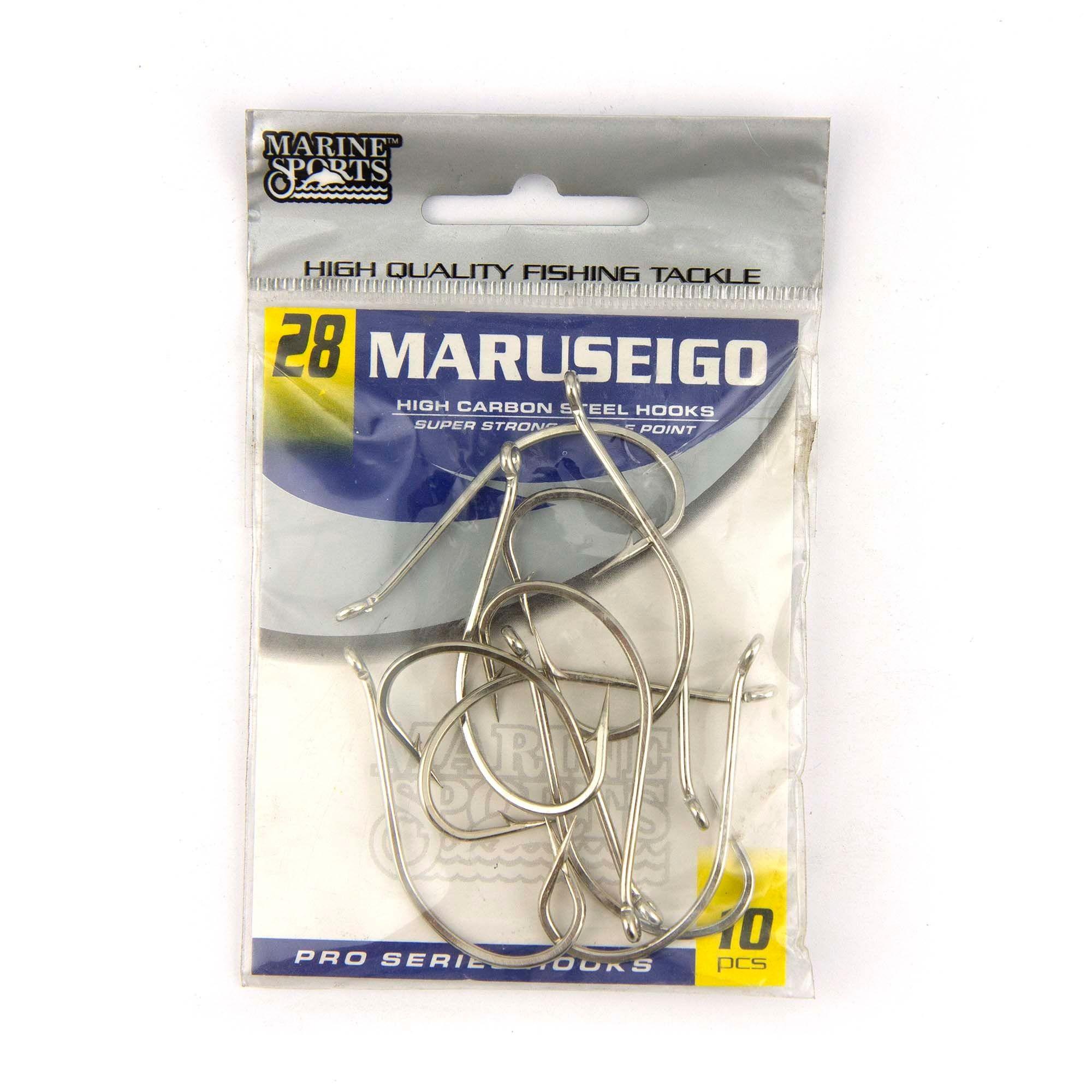 Anzol Maruseigo Nickel nº 28 - 10 unidades  - Artpesca