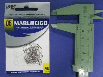 Anzol Maruseigo Nickel nº 6 - 50 unidades  - Artpesca