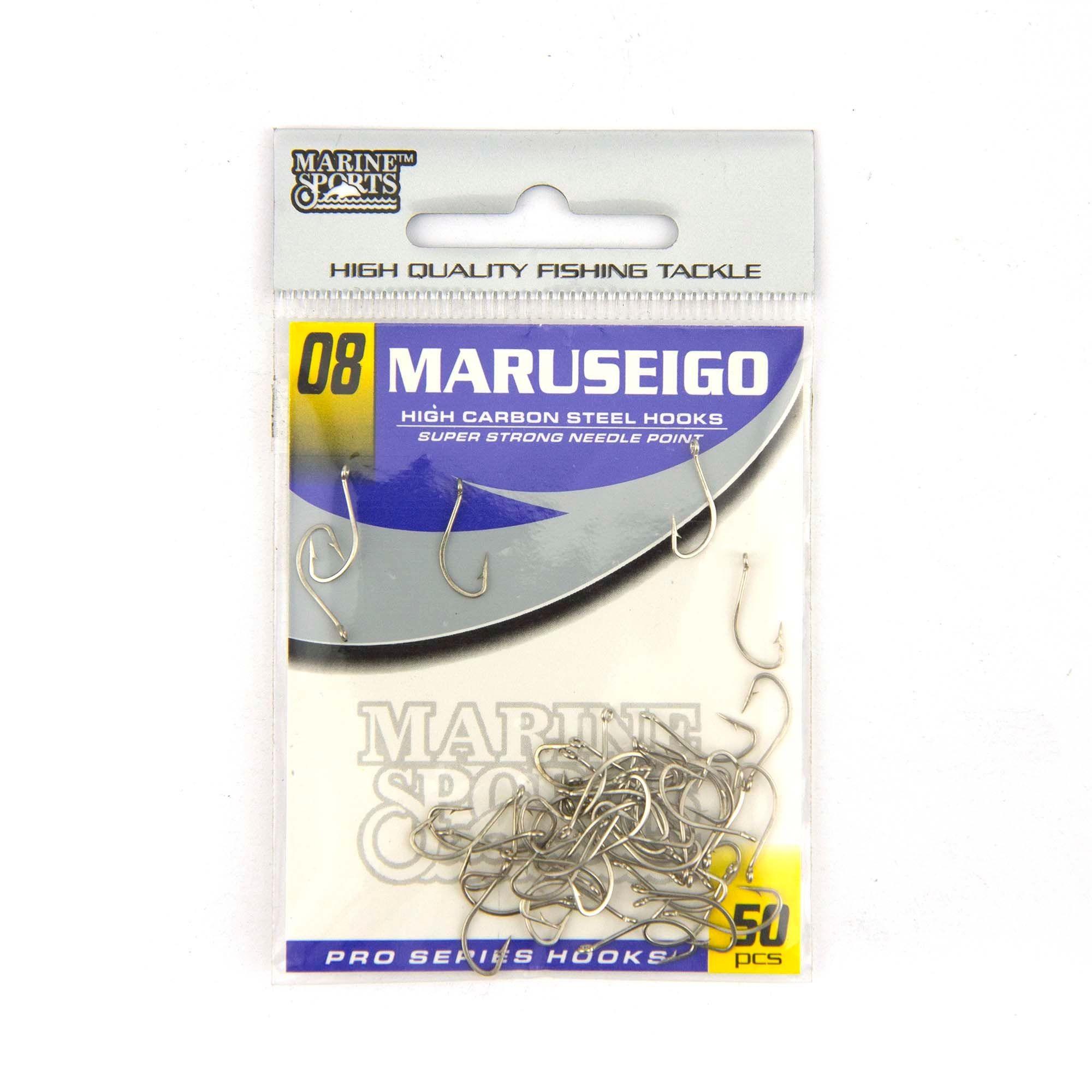 Anzol Maruseigo Nickel nº 8 - 50 unidades  - Artpesca