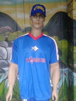 Camiseta-Artpesca Azul -  - Artpesca
