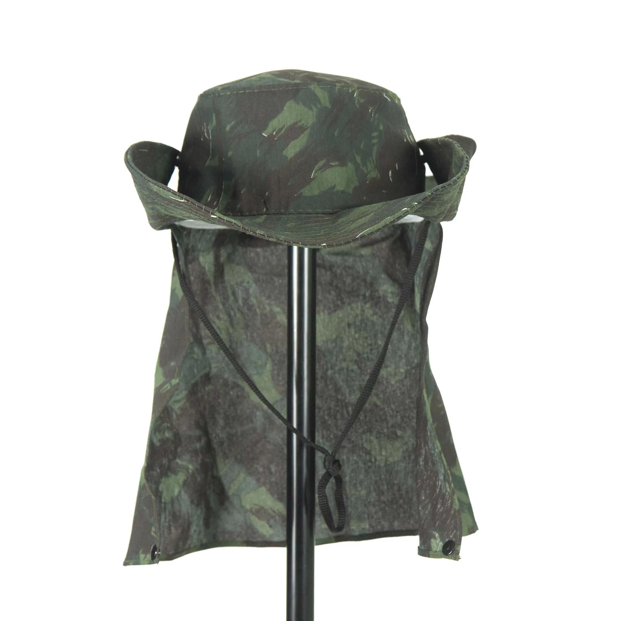 Chapéu Camuflado Proteção Pescoço  - Artpesca