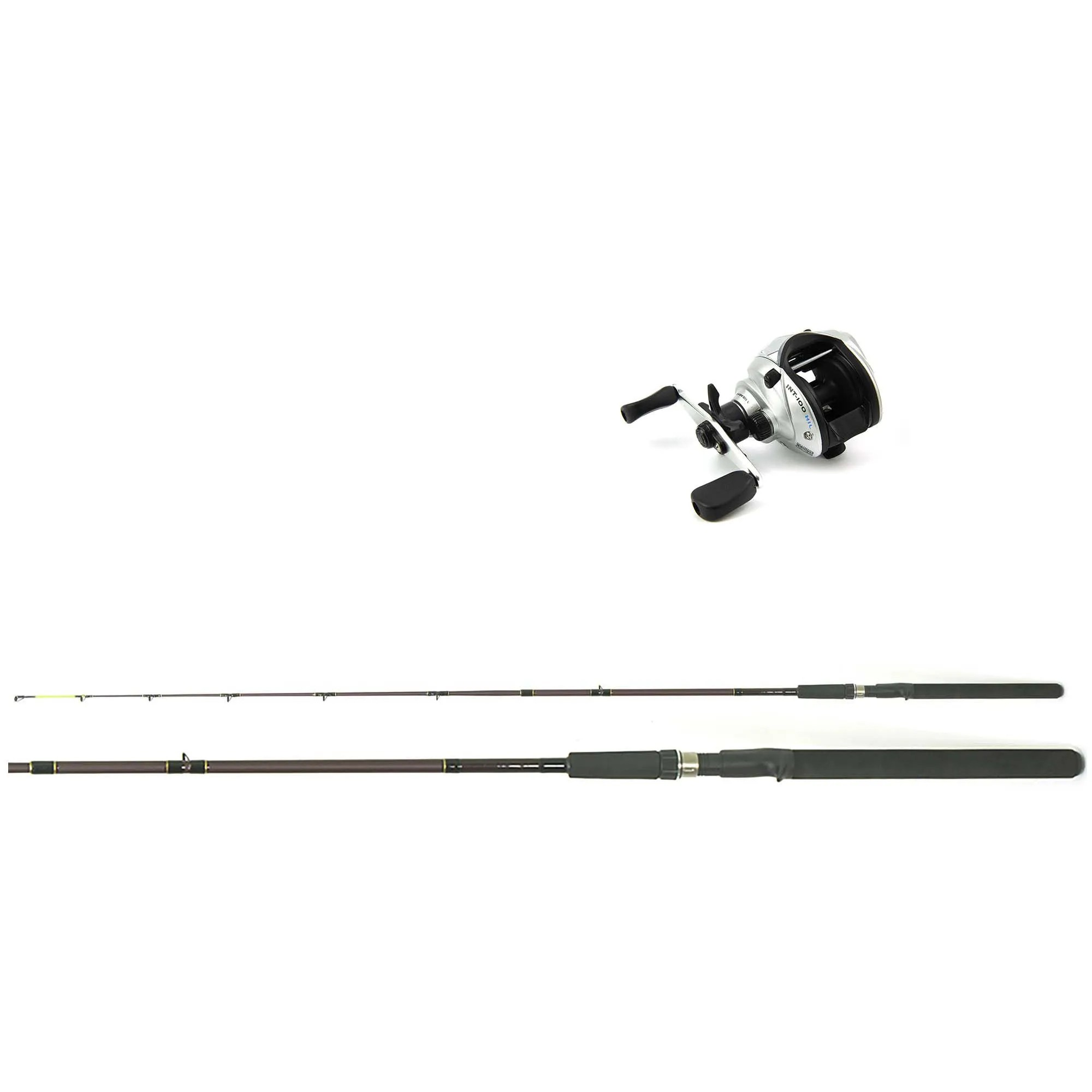 Kit Pesca Carretilha Intruder 100 + Vara Dura Power 1,65m  - Artpesca
