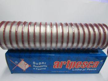 Linha de Nylon Artpesca 0,25mm Branca Caixa com 20 unidades de 100m cada  - Artpesca