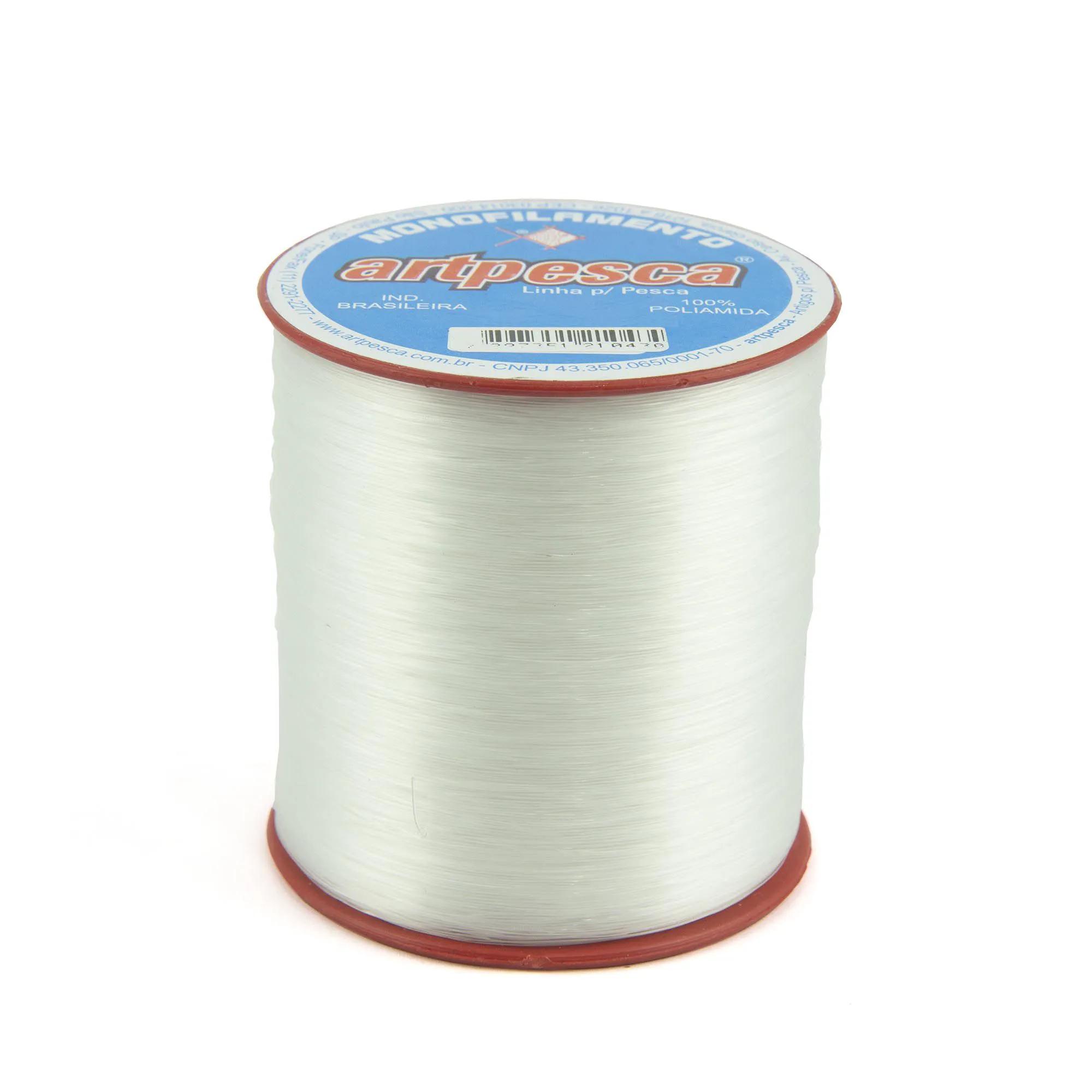Linha de Nylon Artpesca 0,35mm Branca - 1 unidades com 100gr  - Artpesca
