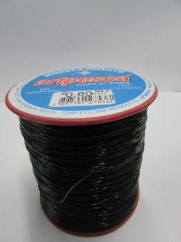 Linha de Nylon Artpesca Preta 0,60mm - 1 unidades com 100gr  - Artpesca