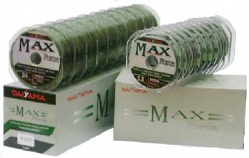 Linha Max Force  100m - Caixa com 10 unidades  - Artpesca