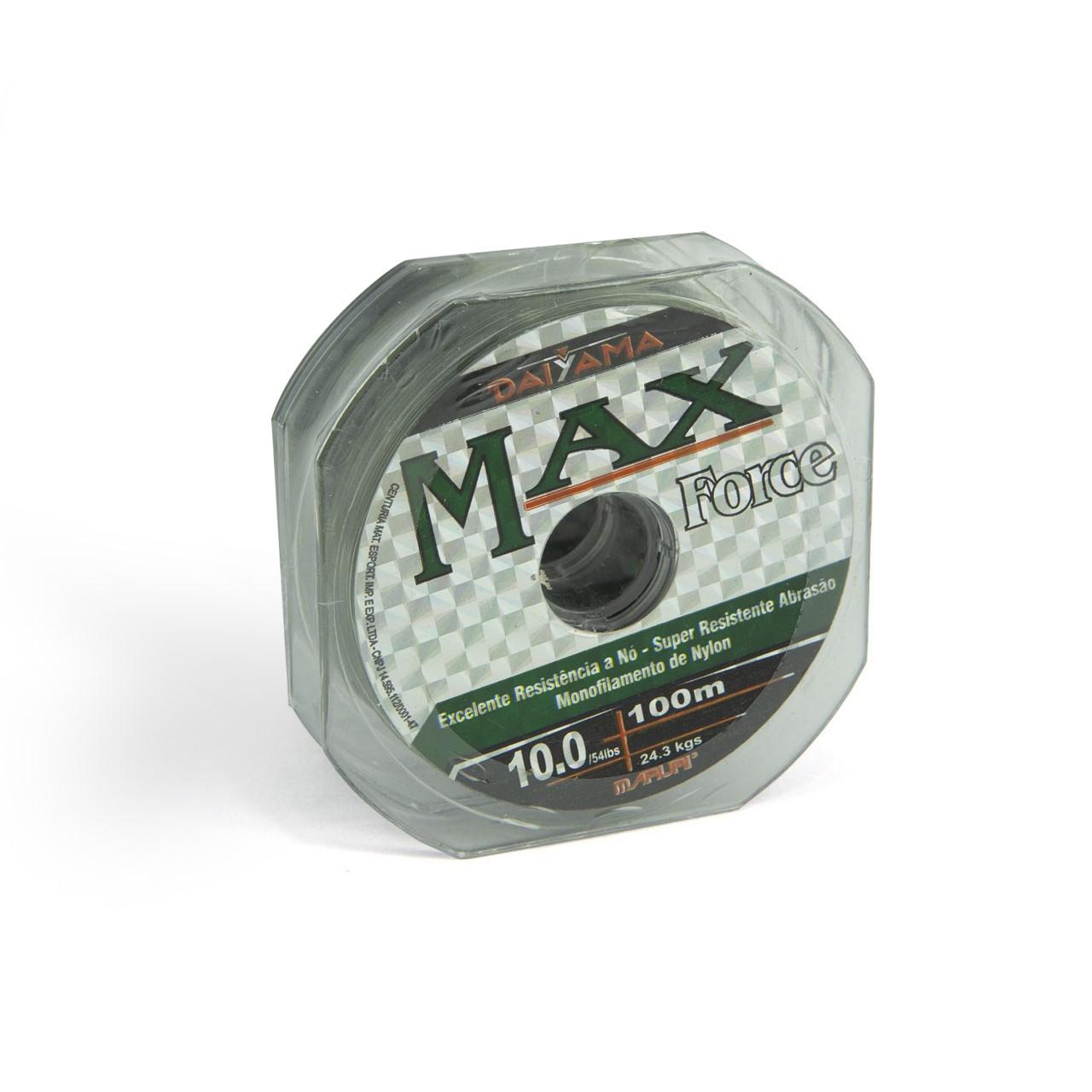Linha Max Force Monofilamento 0,26mm - 1 unid de 100m  - Artpesca