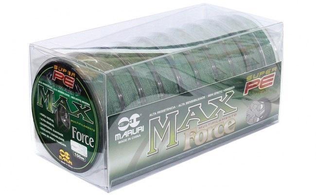 Linha Max Force Multifilamento  0,52mm Caixa com 10 unid de 100m  - Artpesca