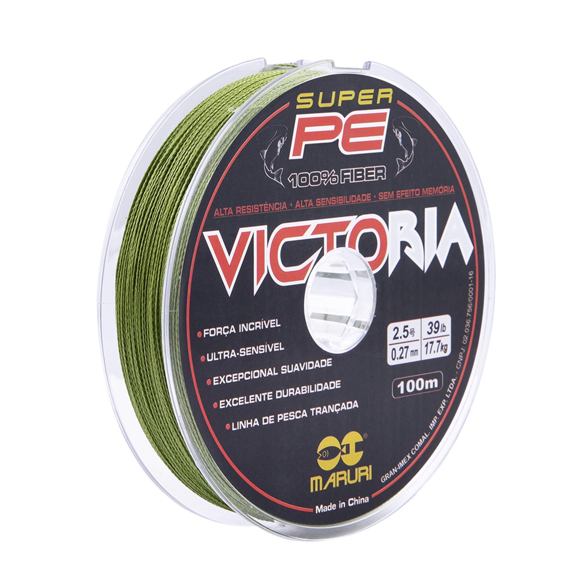 Linha Multifilamento Victoria 0,50mm - caixa com 10 unidades  - Artpesca