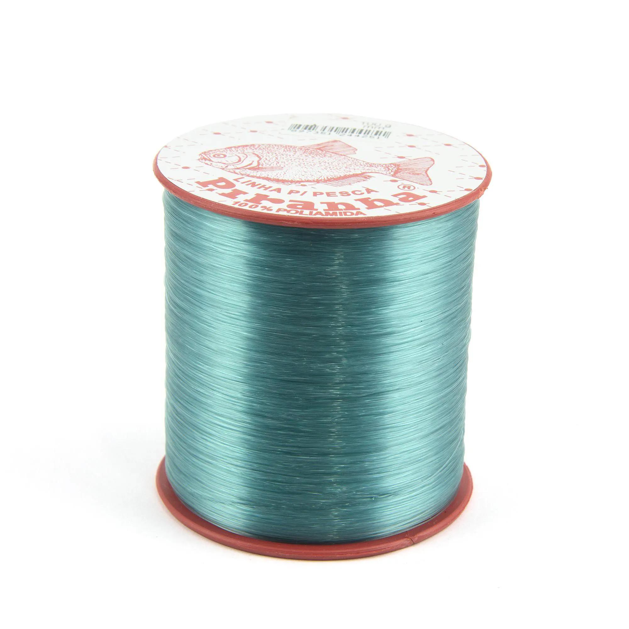 Linha Nylon Piranha - Verde - 100gr  - Artpesca