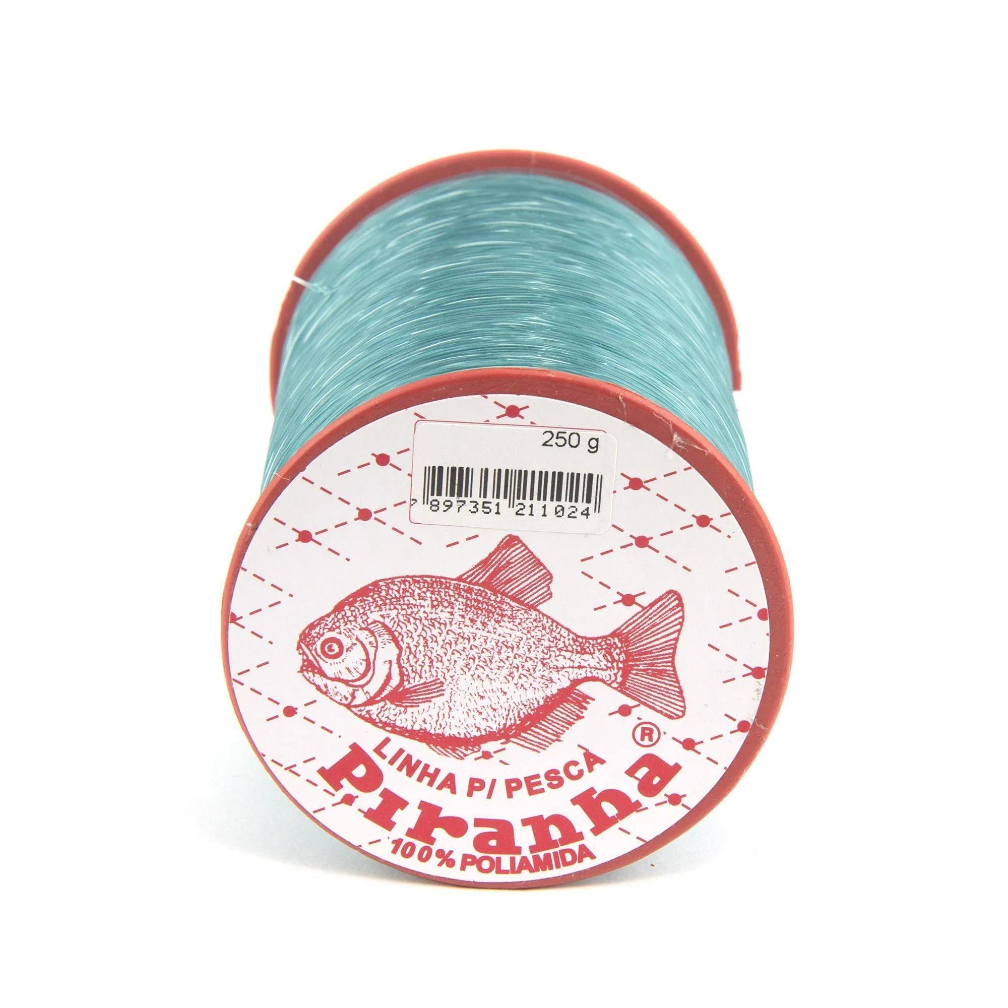 Linha Nylon Piranha Verde - 250gr  - Artpesca