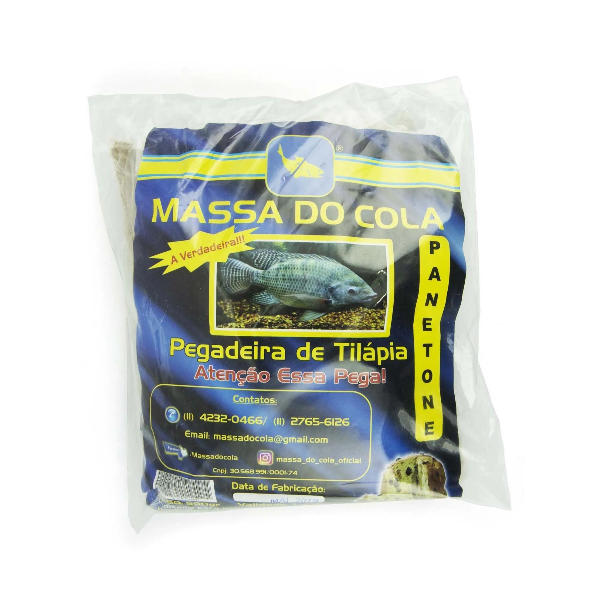Massa para pesca Pegadeira de Tilápia - Panetone  - Artpesca