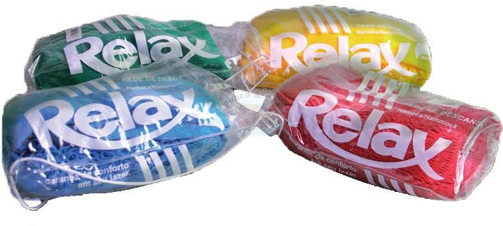 Rede de descanso Relax - vermelha  - Artpesca