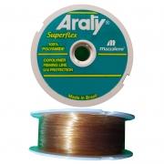 Linha Araty UV 43lbs ouro (0,60mm-120m)
