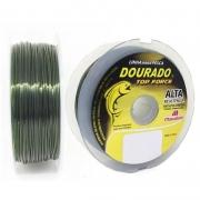 Linha Dourado Top Force 30,2lbs verde oliva (0,45mm-100m)