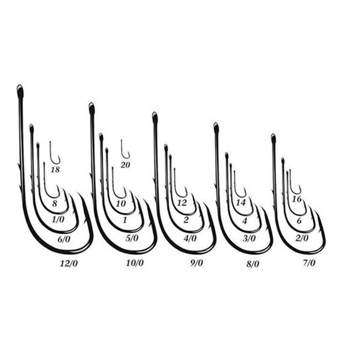 Anzol Eagle Claw 3200 2/0 (100un)