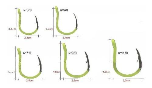 Anzol Maruri Jigging Hook Aqua 7/0 (06un)