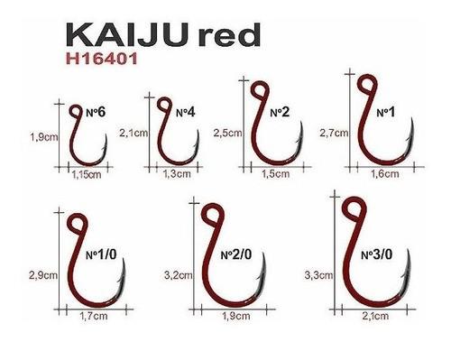 Anzol Maruri Kaiju Red 02 (10un)