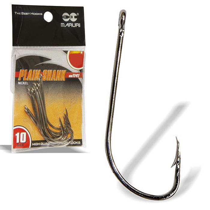 Anzol Maruri Plain Shank MR1141 04 (100un)