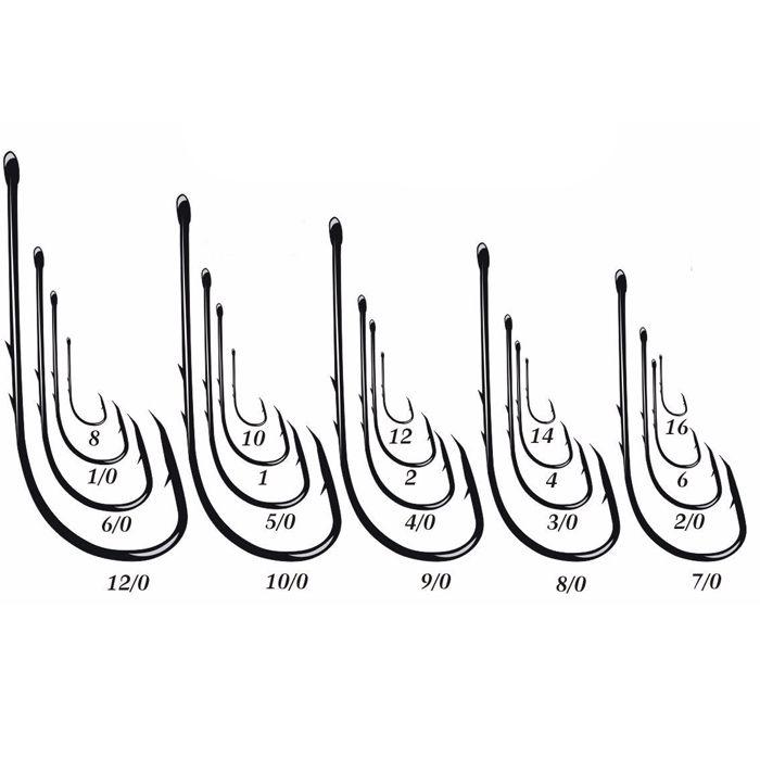 Anzol Pinnacle 4330 7/0 (50un)