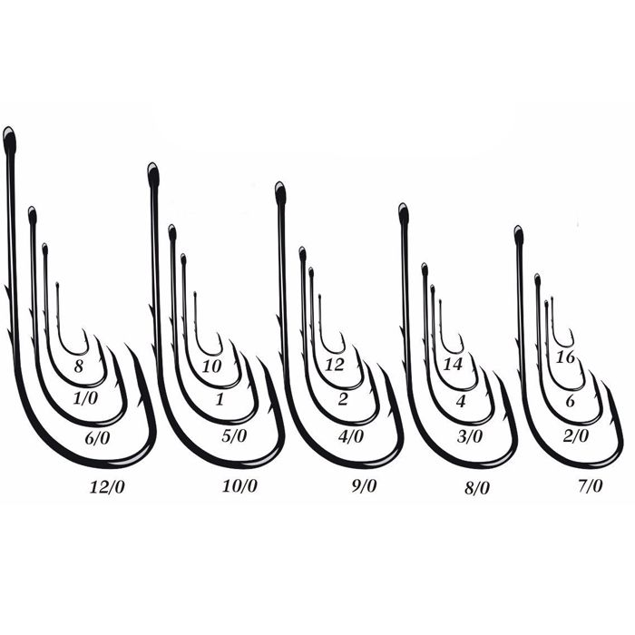 Anzol Pinnacle 4330 8/0 (50un)
